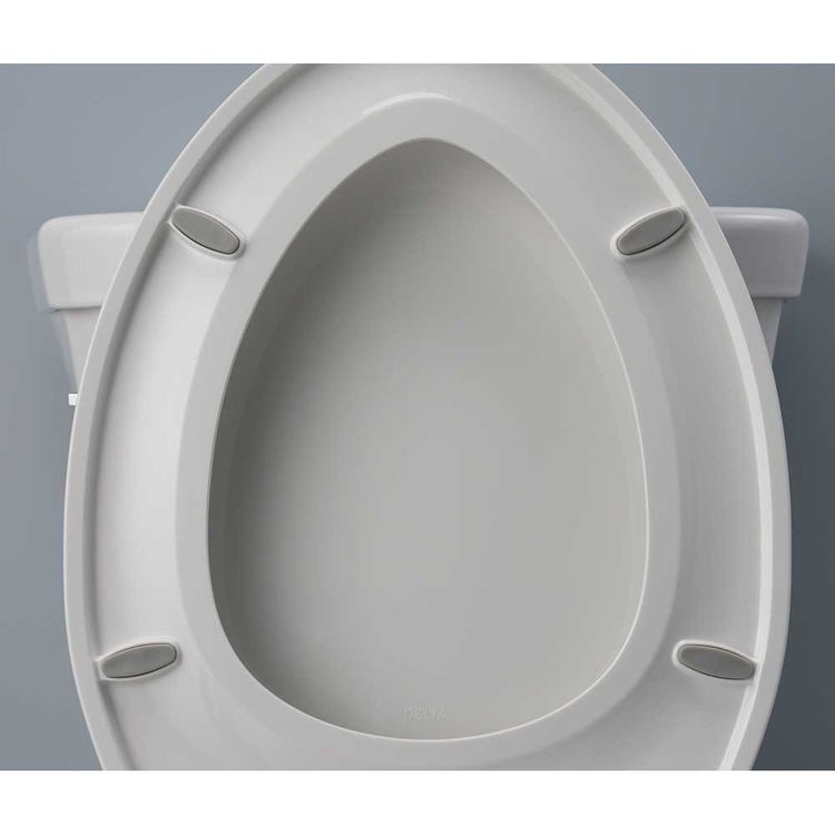 View 2 of Delta 800901-WH DELTA 800901-WH WYCLIFFE ROUND TOILET SEAT WHITE