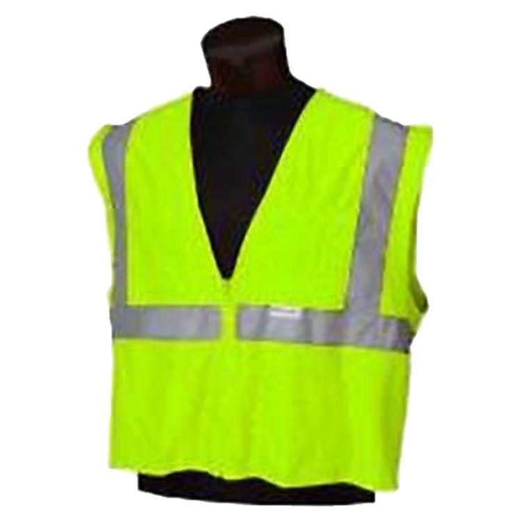 Jackson 3022284 Jackson 3022284 Deluxe Reflective Safety Vest, Medium to Large, 100% Polyester Mesh, Lime