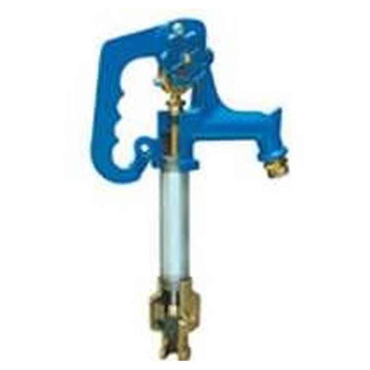 Simmons 803LF Simmons 803LF Frost-Proof Yard Hydrant, 3/4 in, FNPT x MHT, 3 ft Bury, 65-1/2 in OAL, Cast Iron Head, 120 psi