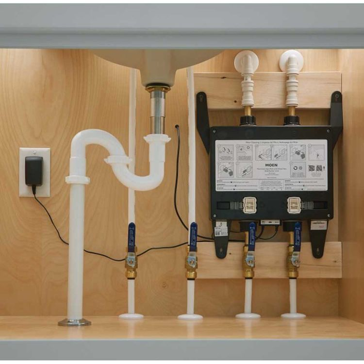 View 3 of Moen S3102 Moen S3102 Two Outlet Electronic Rough-in Valve - U by Moen