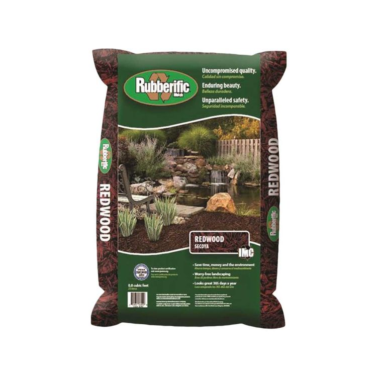 International Mulch RM16RW Rubberific Mulch RM16RW Rubber Mulch, Redwood