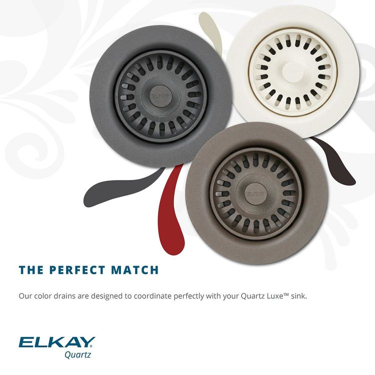 View 4 of Elkay LKQD35CH Elkay Polymer 3-1/2