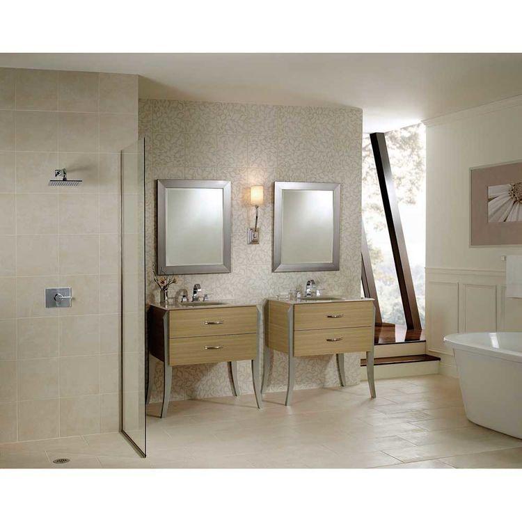 View 3 of Delta 3553LF Delta 3553LF Vero Widespread Two Handle Bathroom Faucet in Chrome