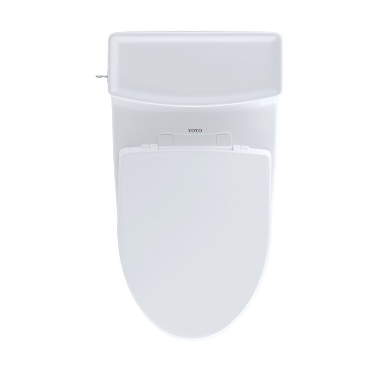 View 4 of Toto MS626124CEFG#11 Toto MS626124CEFG#11 Colonial White Aimes Elongated One-Piece Toilet