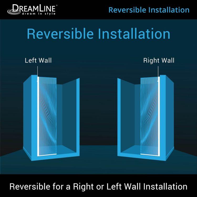 View 10 of Dreamline D3234721M11-08 DreamLine D3234721M11-08 Platinum Linea Surf 34