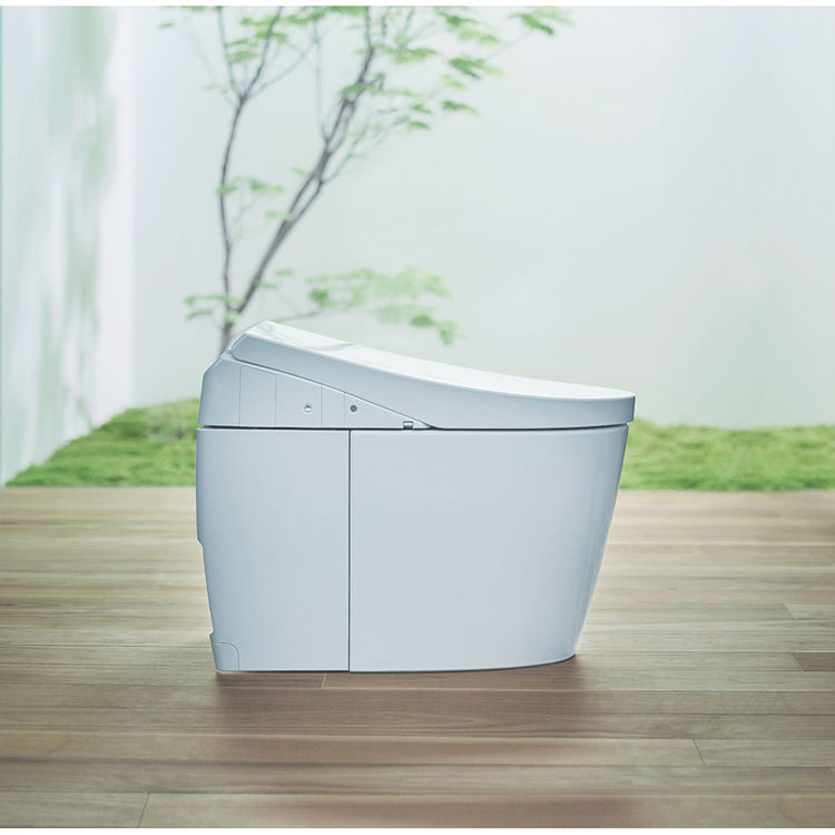 View 8 of Toto MS989CUMFG#01 TOTO MS989CUMFG#01NEOREST AH One-Piece Elongated Toilet w/ Washlet - Cotton White