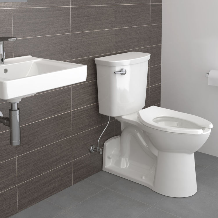 View 7 of American Standard 209AA137.020 American Standard Yorkville 209AA.137.020 White VorMax 1.28 GPF Elongated Toilet