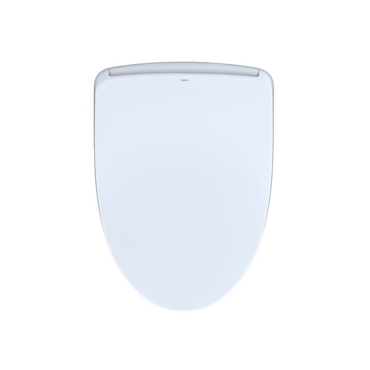 View 4 of Toto SW3046AT40#01 TOTO S500e WASHLET+ and Auto Flush Ready Electronic Bidet Toilet Seat with EWATER+and Contemporary Lid, Elongated, Cotton White - SW3046AT40#01
