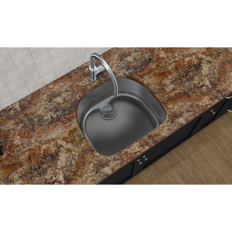 View 3 of Elkay EGUH2118 Elkay EGUH2118 Harmony Stainless Steel Single Bowl Undermount Sink