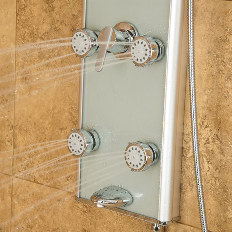 View 9 of Pulse 1013-GL Pulse 1013-GL Kihei II Shower System Select-A-Jet Features, 8