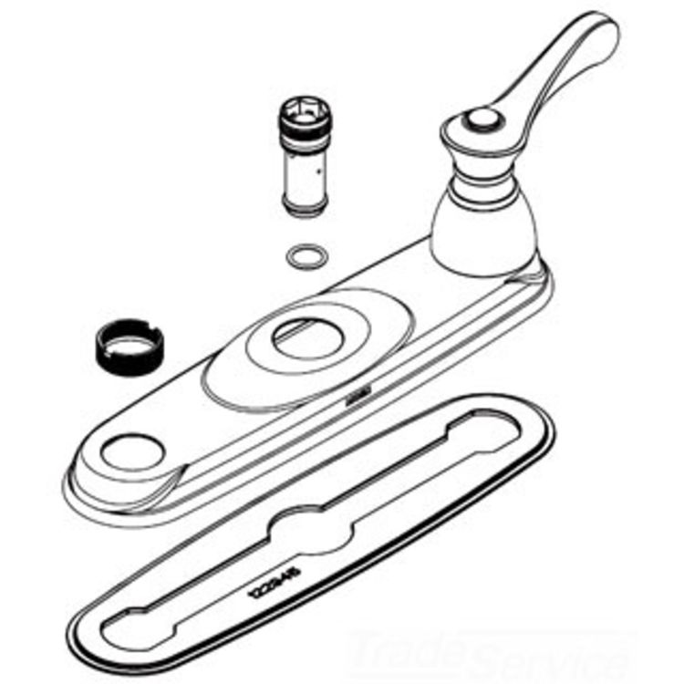Moen 123342 Moen 123342 Part Deck Gasket, Two Handle Kitchen