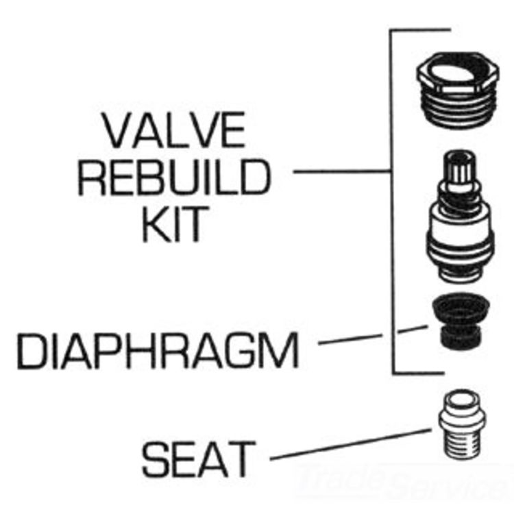 American Standard 066289-0070A AS 066289-0070A VALVE REBUILD KIT