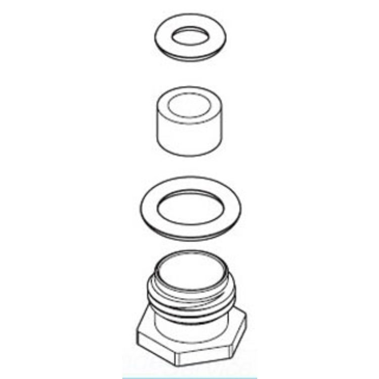 Moen 136331 Moen 136331 Part Service Kit, Roman Tub Spout Plug Seal