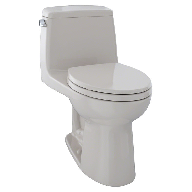 toto ms854114e 12 sedona beige eco ultramax one piece toilet plumbersstock. Black Bedroom Furniture Sets. Home Design Ideas
