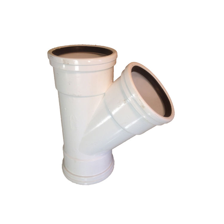 Sdr 35 Pipe : Quot wye gasketed sewer drain sdr pvc