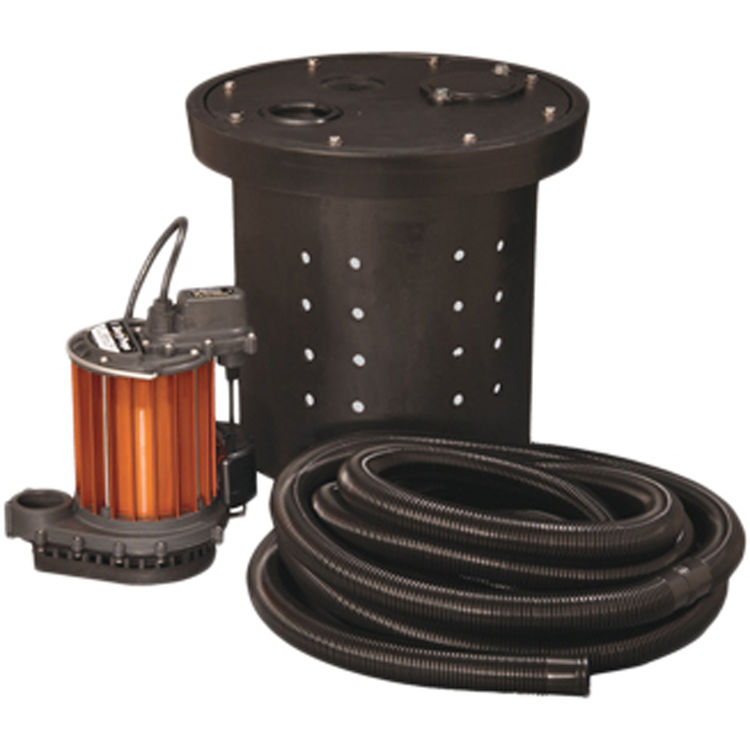 Liberty CSP 237 Crawl Space Sump Pump Kit PlumbersStock