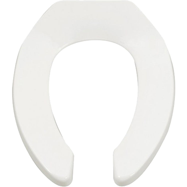 American Standard 5901 100 020 Elongated Open Front Toilet