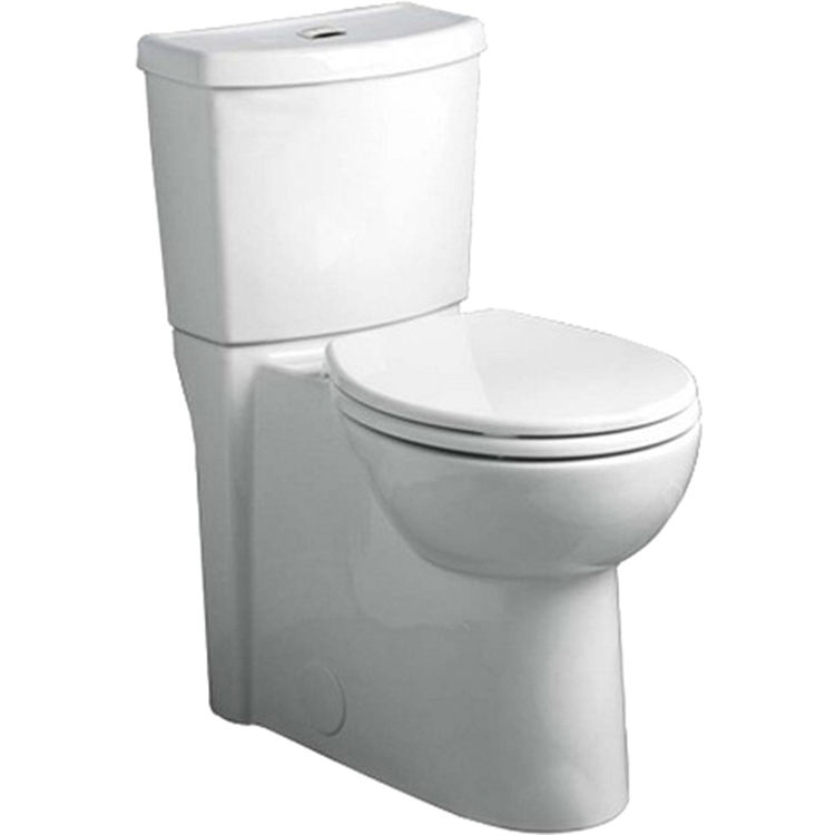 American Standard Studio Dual Flush Elongated Toilet W Seat Wh
