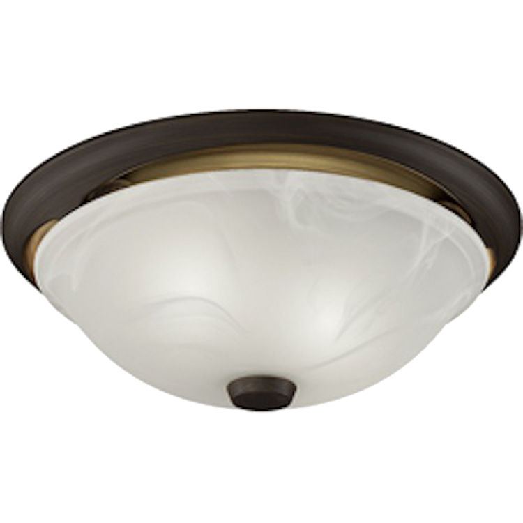 Nutone 772rbnt Decorative Fan And Light Combo In An Oil