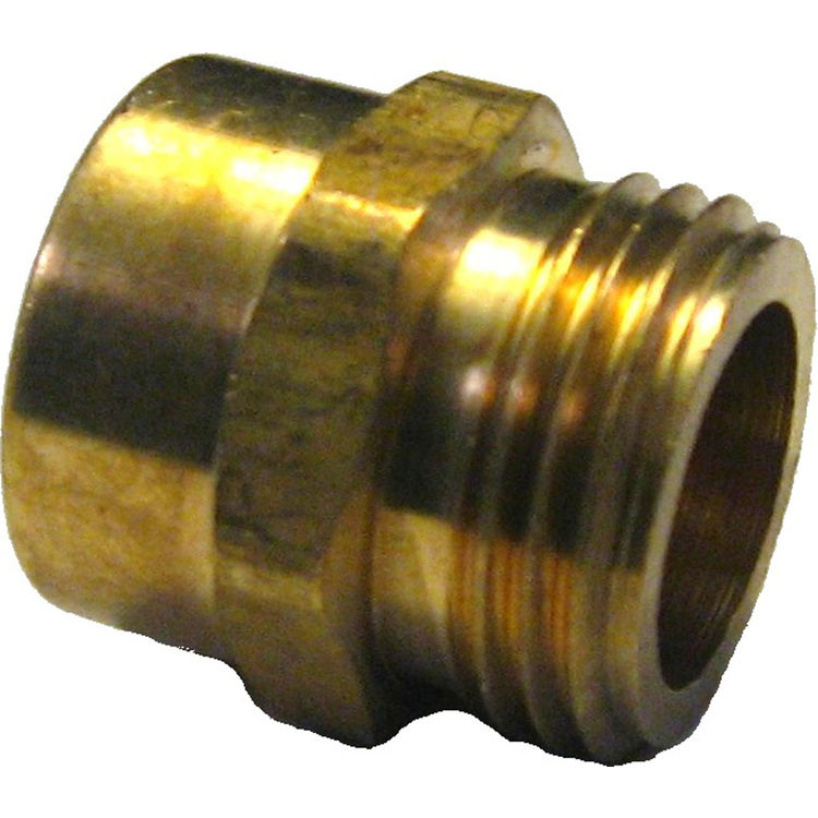 34 x 34 Male Garden Hose Thread x FIP Adapter PlumbersStock
