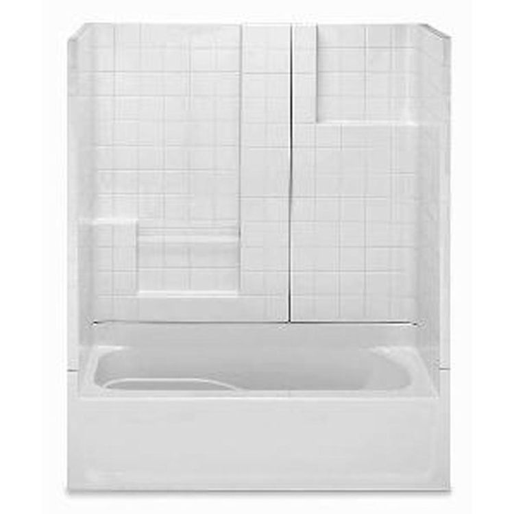 Aquatic Bath 2603ST3PL ST Sterling Silver 60 X30 X72 3 Piece