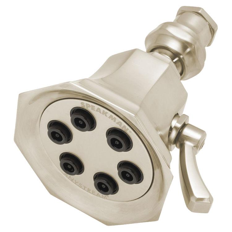 Speakman S 2255 Bn Vintage Brushed Nickel Shower Head Plumbersstock