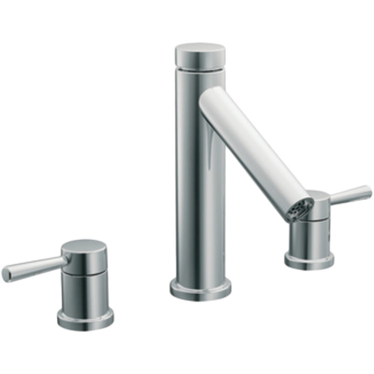 Moen T913 Two Handle High Arc Roman Tub Faucet PlumbersStock
