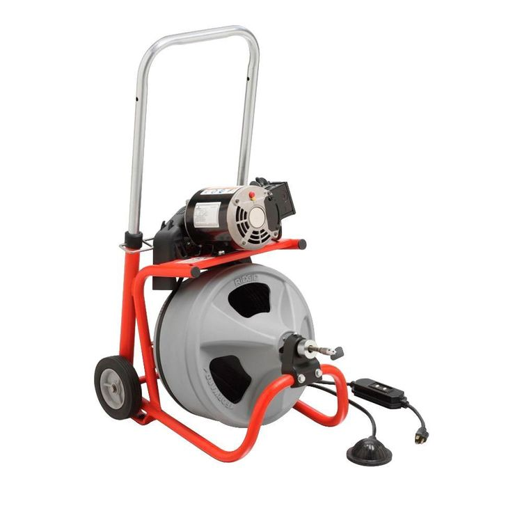 commercial drain cleaning machine